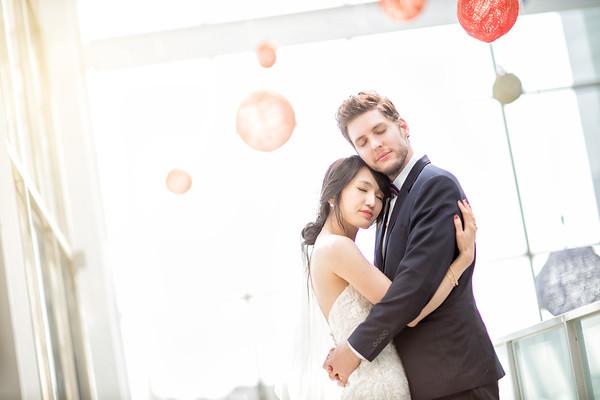 二鹿婚宴會館| 美式婚禮 |訂結之喜 | My Darling 寵愛妳的婚紗