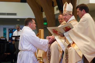 John David's Ordination