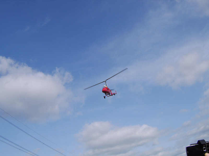 Gyro-copter Training at Stoke (Medway)