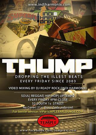 Thump @ Temple Bar & Lounge 9.28.12