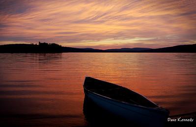 ChristmasGiftBright2008;Algonquin;Sunrise-Sunset;Canoe;Flatwater