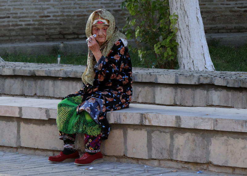 DOWN AND OUT IN BUKHARA - UZBEKISTAN
