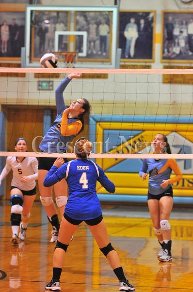 10-20-16 Sports Edon @ Ayersville sectional VB