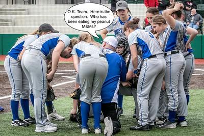 DHS Softball 04-13-2018