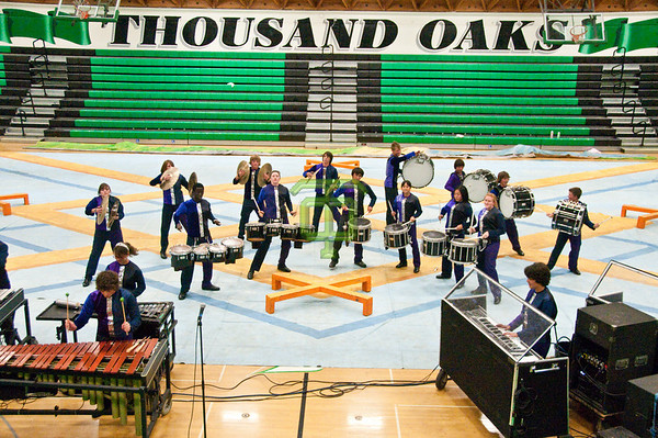 TOHS Drumline - 2009 Show