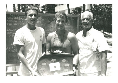 3rd Annual Cline Mann 5K Paddleboard Race 8-15-1987