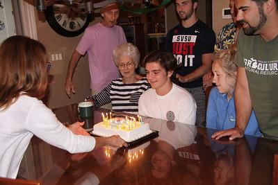 2018  David's 16th Birthday
