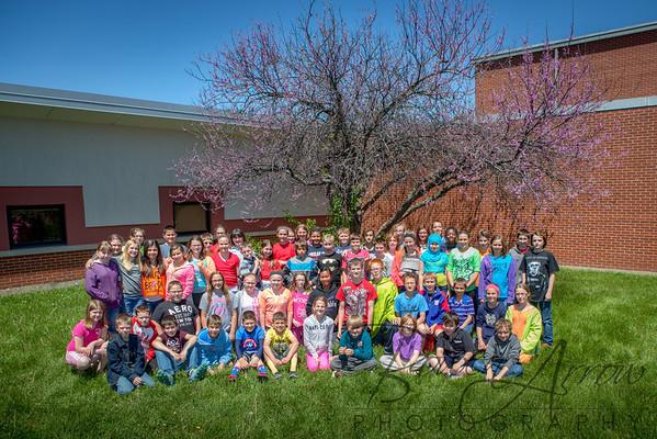 Hendry Park 5th Grade Recess 2014