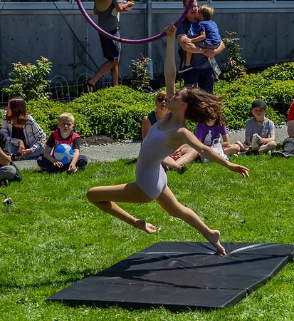 Set five, UMO Aerial Show 1 at Ober Park, Vashon Island Strawberry Festival 2019