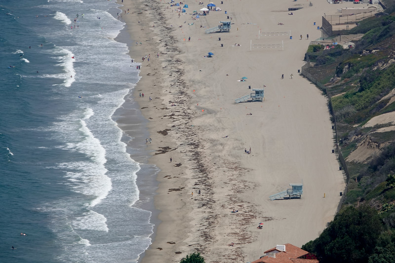 Looking down at Redondo Beach from Palos Verdes