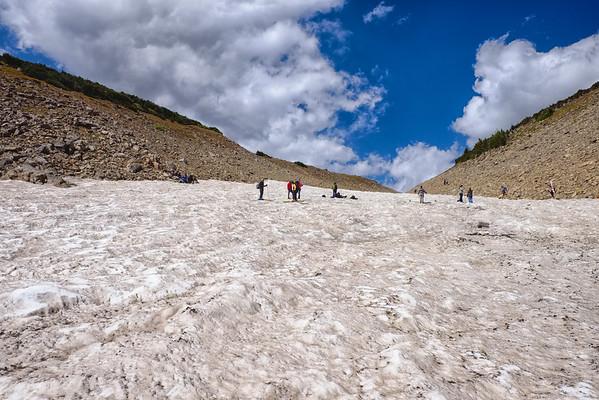 Skiing St. Mary's Glacier 2014
