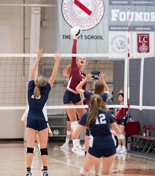 Varsity Volleyball v Hotchkiss
