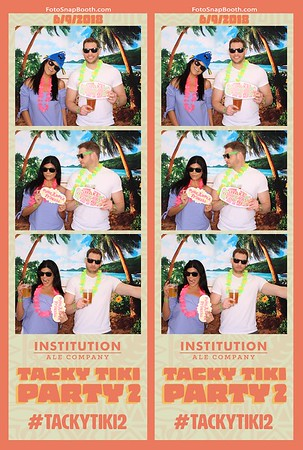 Institution Ale Co. Tacky Tiki Party 2 2018