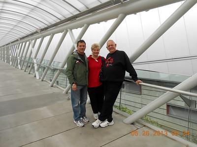 Family Visit Memorial Day 2013