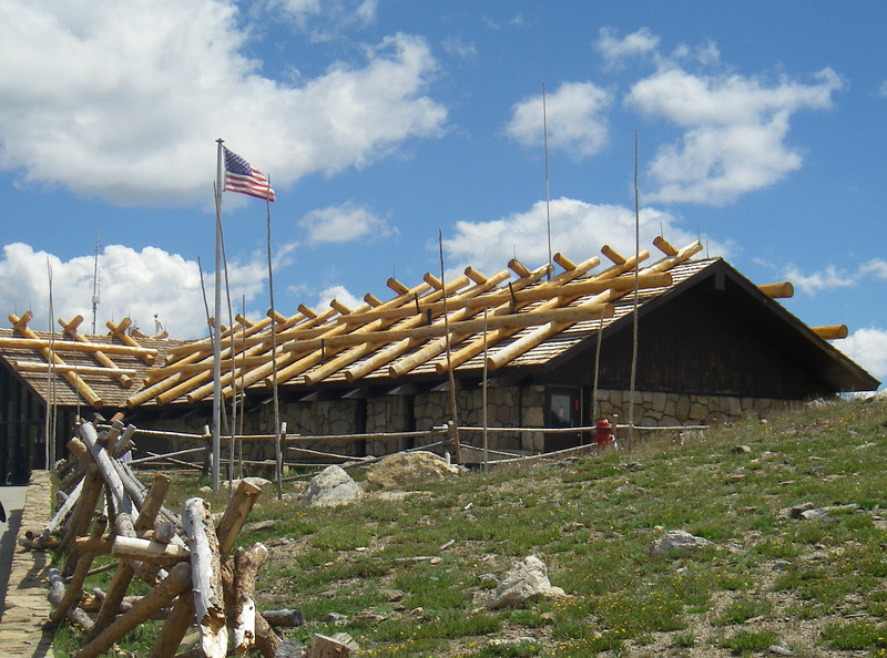 Alpine Visitor Center at 11,796ft or 3.595m in elevation, it is the highest visitor center in the national park system.
