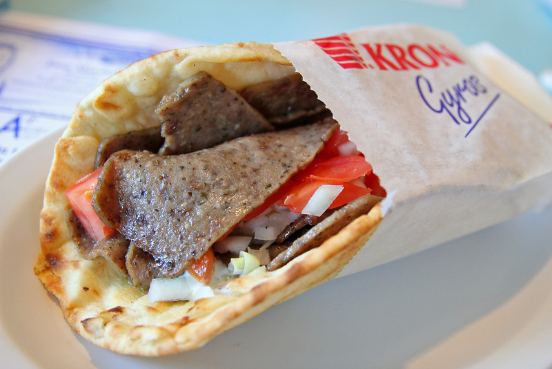 Beef Gyro from Athens Pizza