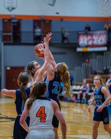 Rockford Girls JV Basketball vs Mona Shores 12.17.19