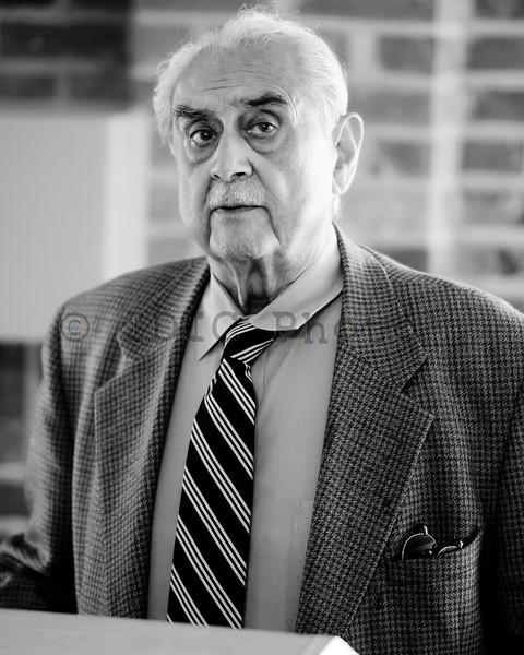 Syed Babar Ali portrait