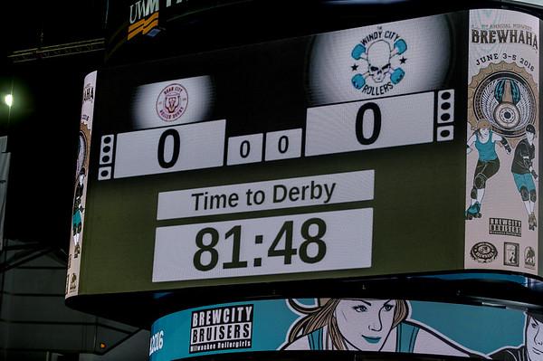 BR2016 - Tri-City Roller Derby vs. Houston