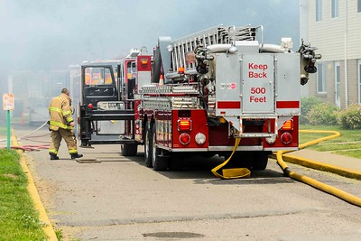 06-07-15 Coshocton FD Structure Fire