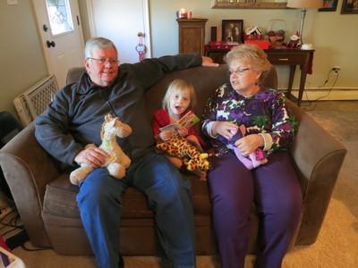 Snyder-Parkinson-Wheeland Christmas 2013