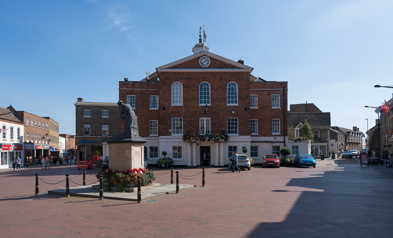 Huntingdon Town Hall, Cambridgeshire