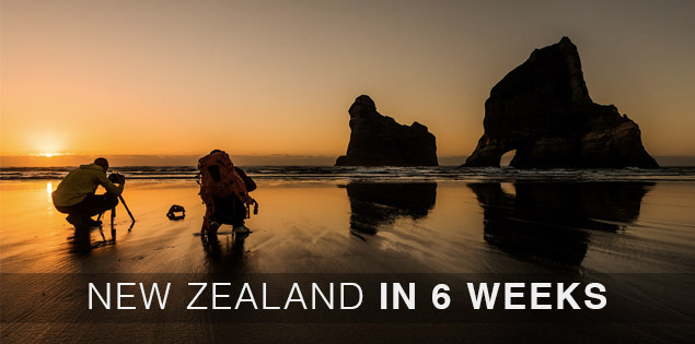 6 week travel itinerary for New Zealand