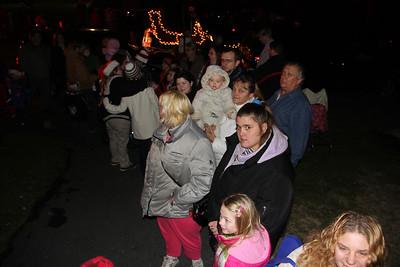 Santa and Mrs Claus Parade, Depot Square Park, Tamaqua (11-30-2012)