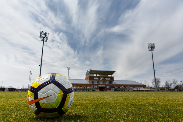Purdue Soccer vs Illinois 2018-4-22