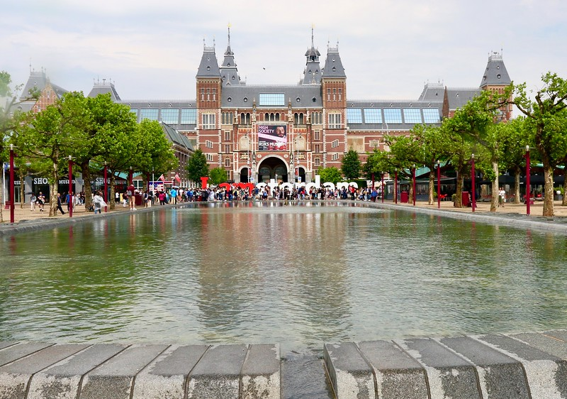 The Rijksmuseum - dedicated to arts and history - Amsterdam