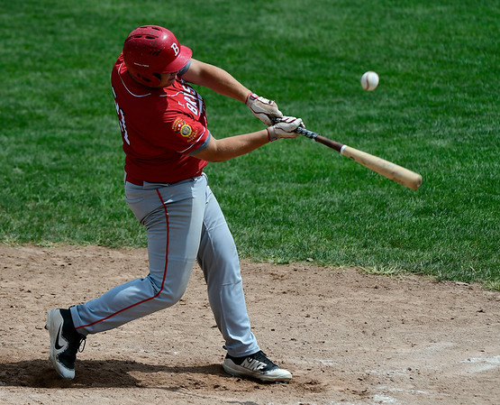 7/27/2018 Mike Orazzi   Staff Bristol American Legion's Stephen Warkoski (21) during a loss to RCP during the state tournament held at Tunxis Meade Field in Farmington Friday afternoon.