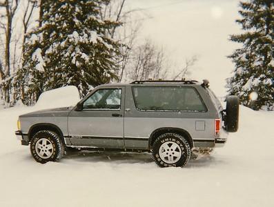 Chevy Blazer - 2 tone Gray
