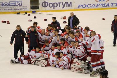 Финал чемпионата России 2012-2013. Награждение. Челябинск, 31 марта 2013