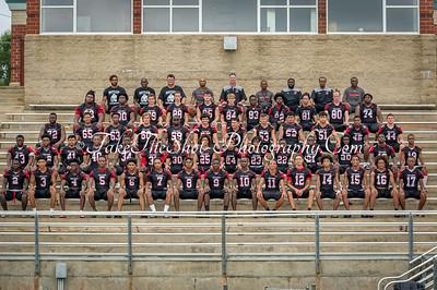 2018-08-11 Butler High School Football Team Photos