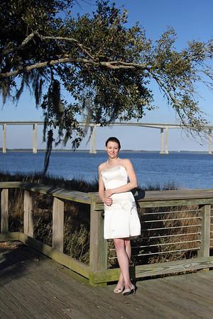 Anne Elizabeth Rone's Bridal Portrait on Daniel Island