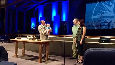 Ryland's Baptism 2015