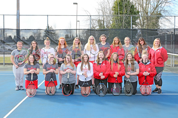 SHS Girls Tennis 2019