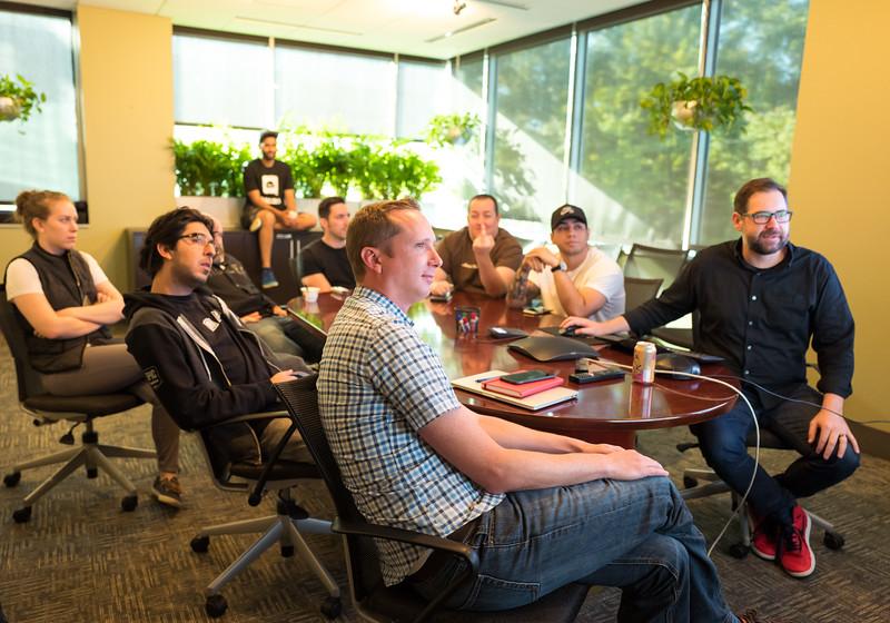 Paragon publishing team meeting