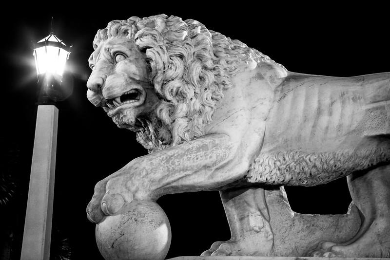 """The Bridge of Lions """"Ferme"""""""