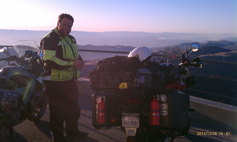 Dan led me through more excruciatingly twisty roads up Mt. Hamilton to the Lick Observatory.