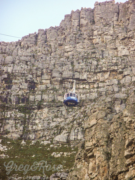 A Cable Mountain Cable Car