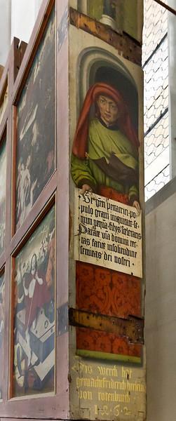 Nördlingen. St. Georg: ursprgl. Hochaltarschrein, linke Seite (Friedrich Herlin, 1462)