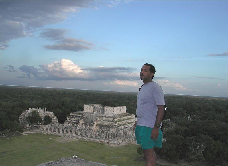 Scott at Chichenitza