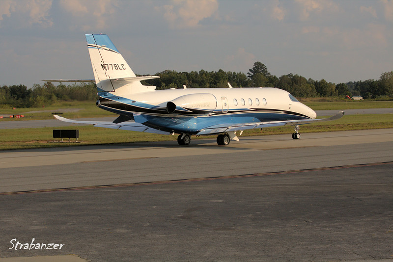 Textron Aviation INC 680A  Citation Latitude c/n 680A0085     N778LC CD AVIATION LLC, GREENSBORO , NC, US   KPDK, DeKalb, GA,   09/22/2017 This work is licensed under a Creative Commons Attribution- NonCommercial 4.0 International License