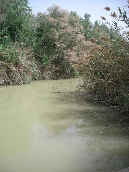 River Jordan, near baptism site