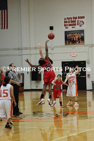 La Porte Girls JV Basketball vs Clear Lake 12/6/2011
