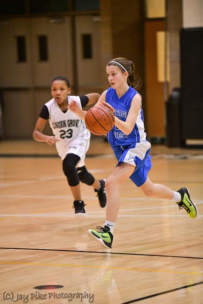 January 24, 2017 - 7th Grade Girls Basketball Team A Game
