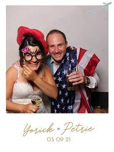 Bruiloft Yorick & Petrie