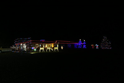 Nick's Lovely Holiday Display ... 1/8/2019