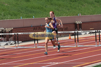 D1 Girls' 300 Hurdles Final - 2014 MHSAA LP T&F Finals